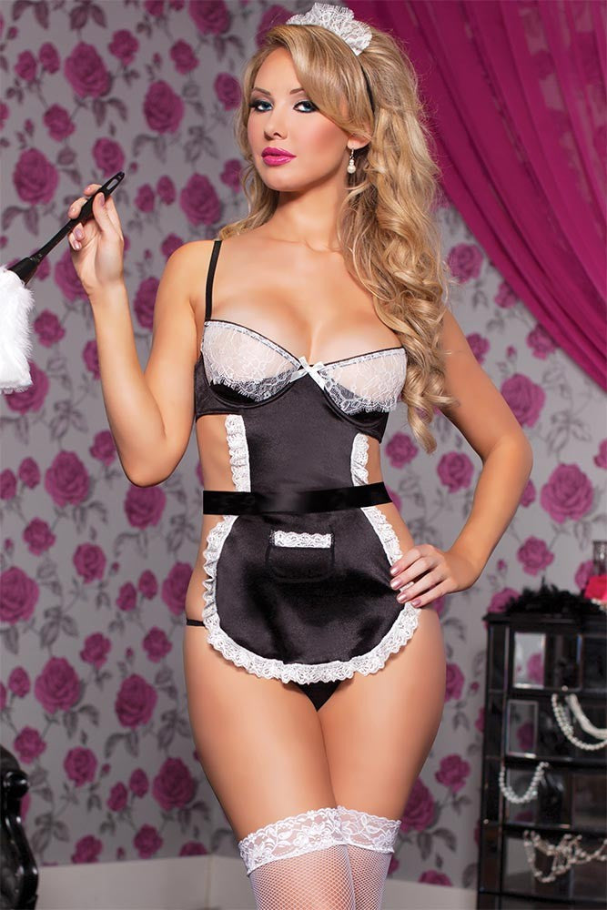 French Maid Bedroom Costume in OS