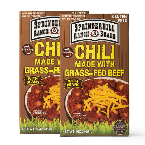 Springerhill Grass-Fed Chili