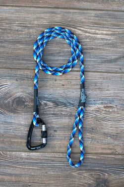 Limited Edition Blue Steel Climbing Rope Leash