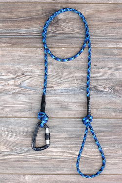 Limited Edition Deep Blue Climbing Rope Leash