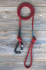 Limited Edition Maroon Climbing Rope Leash
