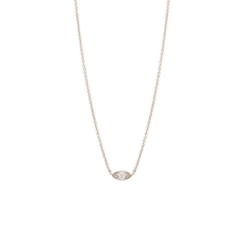 14K God's Eye Diamond Necklace, God's Eye Heaven Culture Necklace, Eversmart Beauty