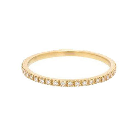 14K Heaven Culture Diamond Eternity Ring, Heaven Culture Eternity Diamond Ring, Eversmart Beauty