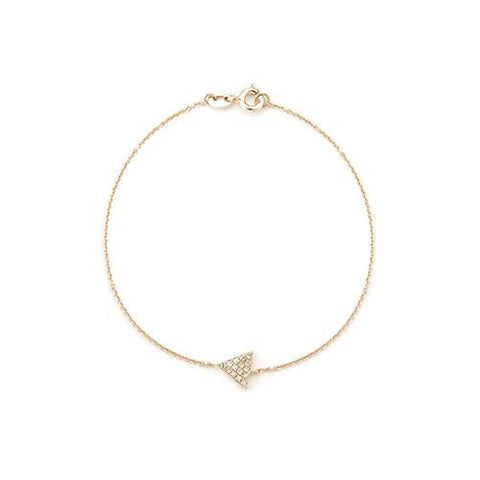 14k Gold Trinity Diamond Bracelet, Trinity Bracelet, Eversmart Beauty