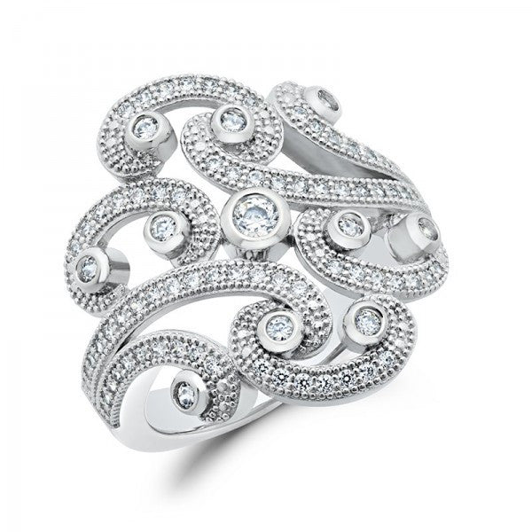 Swarovski® Diamond Ring, Swarovski Rings, Heaven Culture Jewelry