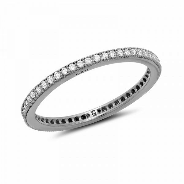 Swarovski® Diamond Eternity Ring, Swarovski Rings, Heaven Culture Jewelry