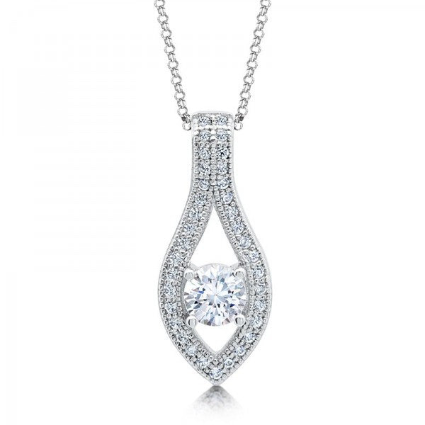 Swarovski® Diamond Necklace, Swarovski Necklace, Heaven Culture Jewelry