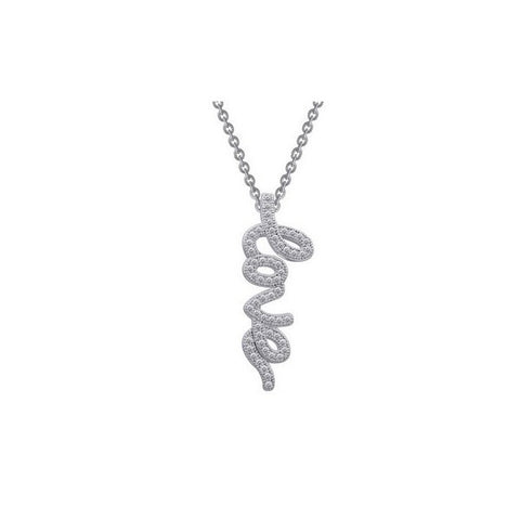 Swarovski® Diamond Love Necklace