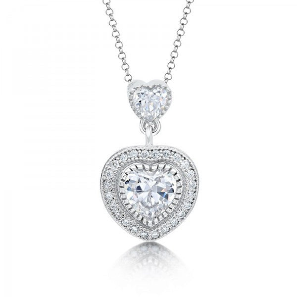 Swarovski® Diamond Heart Necklace 🎀, Swarovski Necklace, Heaven Culture Jewelry