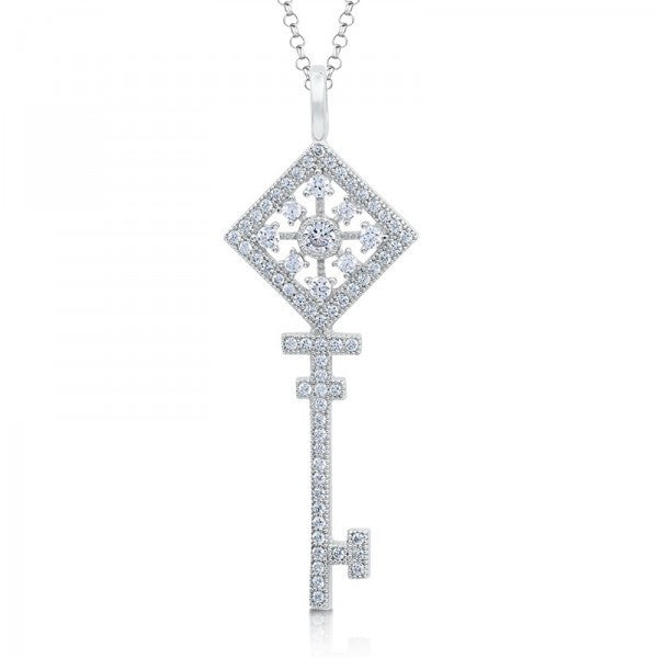 Swarovski® Heaven's Key Necklace, Swarovski Pendants, Heaven Culture Jewelry
