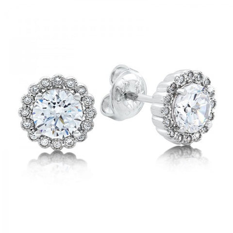Swarovski® Diamond Earrings, Swarovski Earrings, Heaven Culture Jewelry