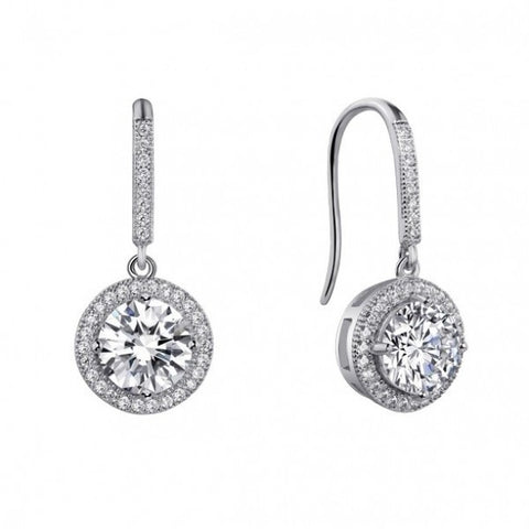 Swarovski® Diamond Heaven's Crystal Drop Earrings