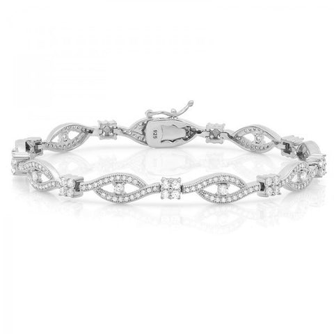 Swarovski® Diamond God's Eye Bracelet, Swarovski Bracelets, Heaven Culture Jewelry