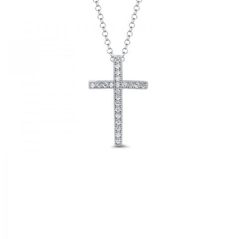 Swarovski® Diamond Cross Necklace, Cross Necklace, Heaven Culture Jewelry
