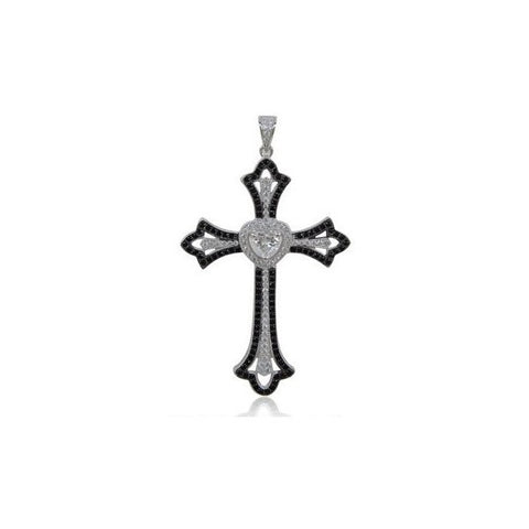 Swarovski® Diamond Cross Necklace, Swarovski Pendants, Heaven Culture Jewelry