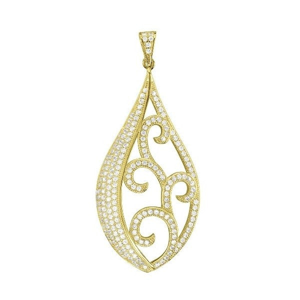 Swarovski® Platinum Gold Plated Fashion Pendant