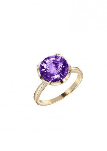 3 Carat 18K Heaven's Color of Royalty Ring, , Eversmart Beauty