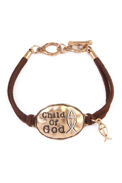 Child of God Charm Bracelet, Heaven Culture bracelet, Heaven Culture Jewelry