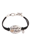 Sister In Christ Charm Bracelet, Heaven Culture bracelet, Eversmart Beauty