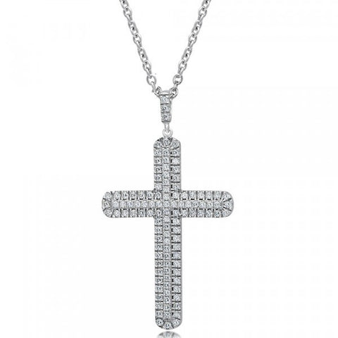 Swarovski® Diamond Cross Necklace, Swarovski Cross Necklace, Heaven Culture Jewelry