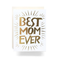 Best Mom Ever Greeting Card, Greeting Cards, Eversmart Beauty