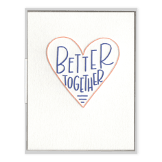 Better Together Greeting Card, Greeting Cards, Heaven Culture Jewelry