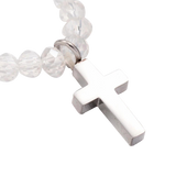 Bead Cross Bracelet, , Eversmart Beauty