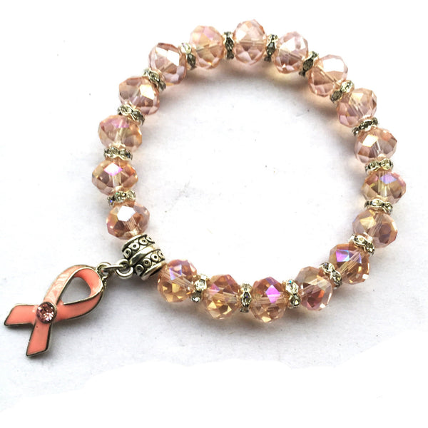 Victory over Breast Cancer Bracelet, , Heaven Culture Jewelry