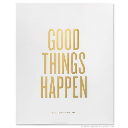 Good Things Happen Greeting Card, Greeting Cards, Eversmart Beauty