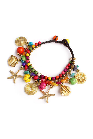 Sea Life Charm Bracelet, Heaven Culture bracelet, Eversmart Beauty