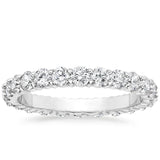 Platinum Eternity Diamond Ring (1 1/2 CT. TW.), Heaven Culture Diamond Eternity Ring, Eversmart Beauty