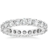 Platinum Diamond Eternity Ring (3 CT. TW.), Heaven Culture Diamond Eternity Ring, Heaven Culture Jewelry