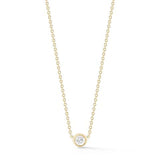 Round Diamond Necklace, Diamond Necklace, Eversmart Beauty