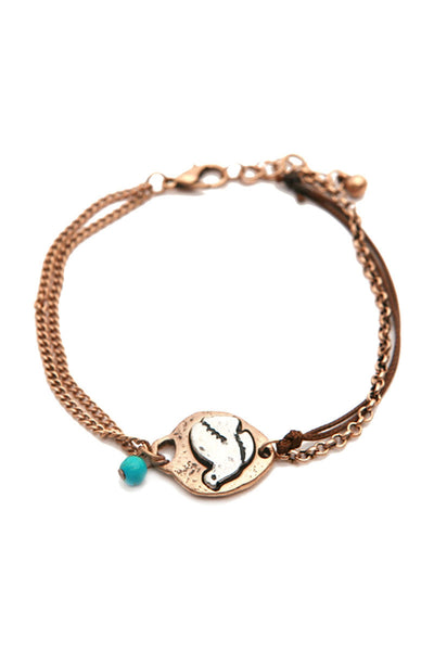 Bird Multi Chain Bracelet, Heaven Culture bracelet, Eversmart Beauty