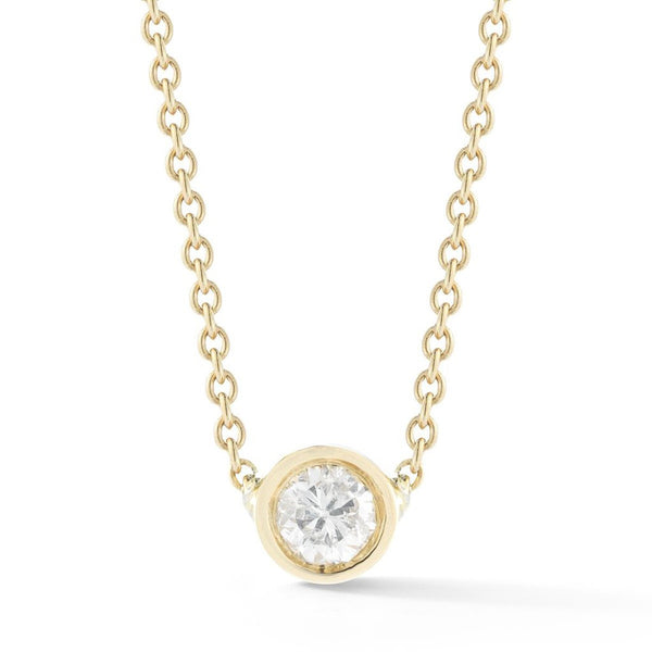 Round Diamond Necklace, , Heaven Culture Jewelry