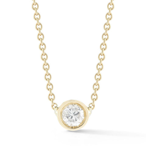 Small Round Diamond Necklace, , Heaven Culture Jewelry