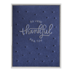So Very Thankful For You Greeting Card, Greeting Cards, Eversmart Beauty