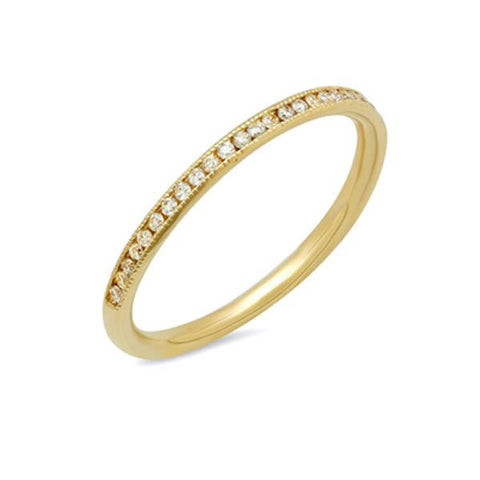 Trinity Diamond Ring (.80 carats), 14K Gold and Diamond Ring, Heaven Culture Jewelry