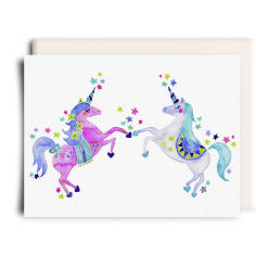 Unicorn Greeting Card, Greeting Cards, Heaven Culture Jewelry