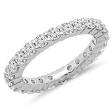 1.00 Carat (ctw) 14K Gold Round Diamond Heaven Culture Eternity Wedding Anniversary Stackable Ring Band, Heaven Culture Eternity Diamond Ring, Heaven Culture Jewelry