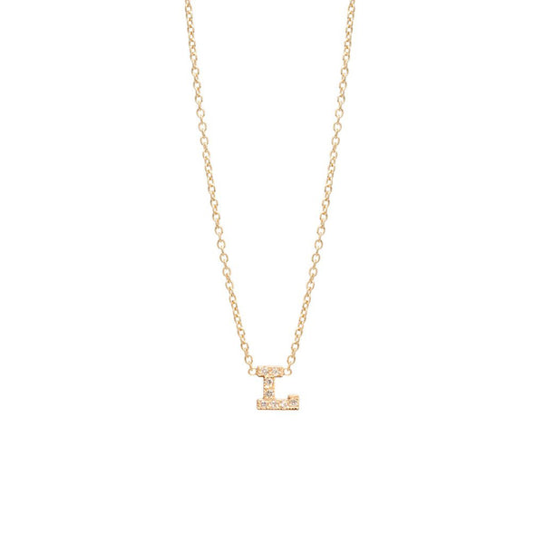 Your Initial Necklace, , Heaven Culture Jewelry