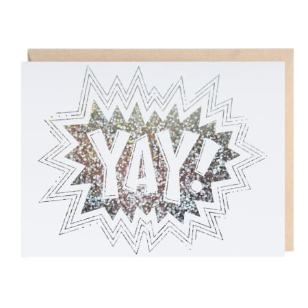 YAY! Greeting Card, Greeting Cards, Heaven Culture Jewelry