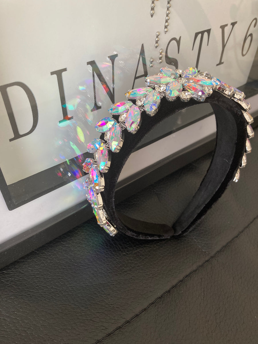 Velvet Crown Headband