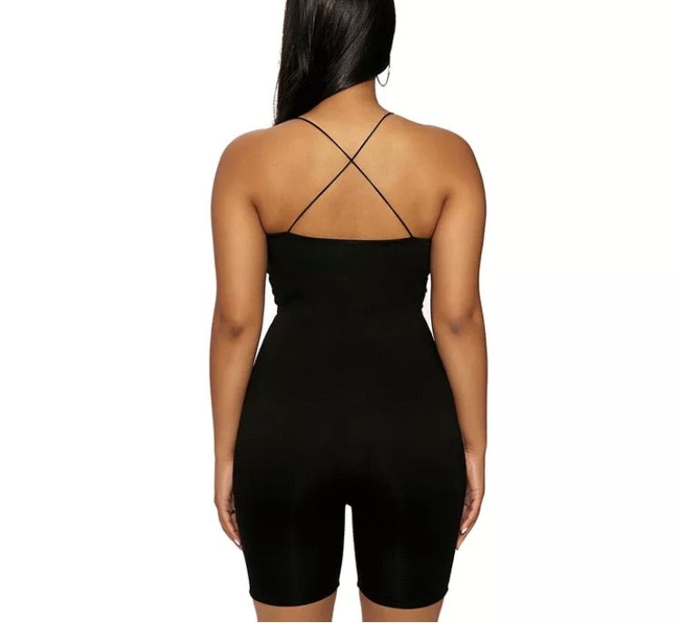 Back To Basics Spaghetti Strap Romper
