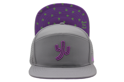 Dancin' Cactus (Gray/Purple) PRESALE NOW!