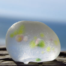 "[Sold] Davenport Pastel ""Spring Dots"" Sea Glass"