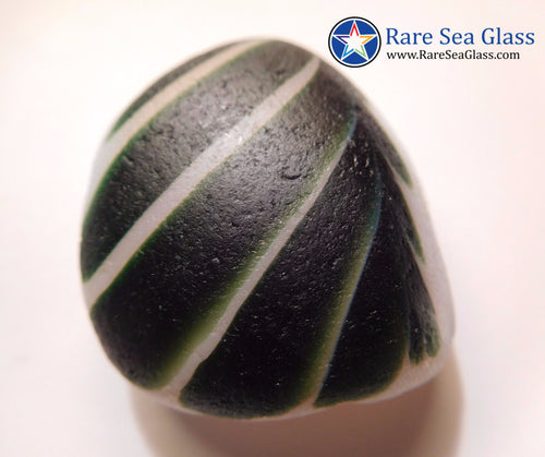 [Sold] Davenport Green and Opalescent Sea Glass