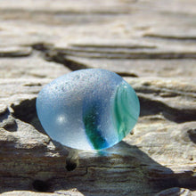 [Sold] Davenport Blue and Green Swirl Sea Glass