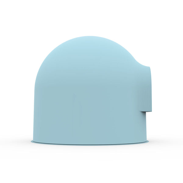 Pidan Snow House Igloo Cat Litter Box - Blue