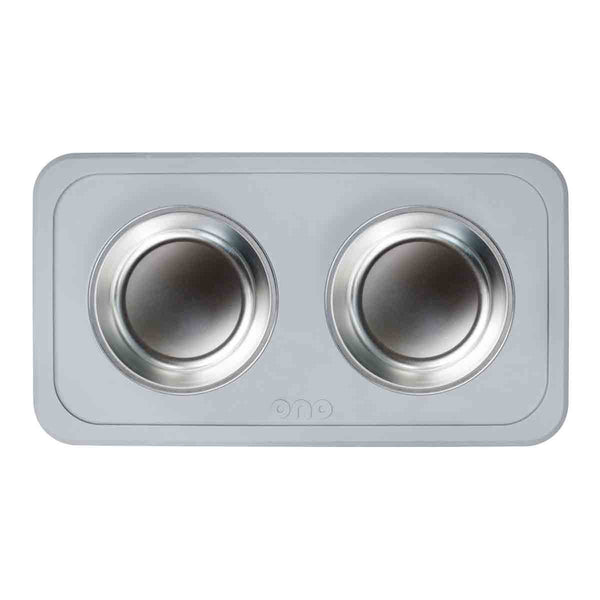 Ono the good bowl (double) in cool gray